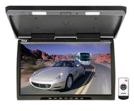 Pyle PLVWR2400 25'' Wide Screen TFT-LCD Roof Mount Video Monitor w/IR Transmitter