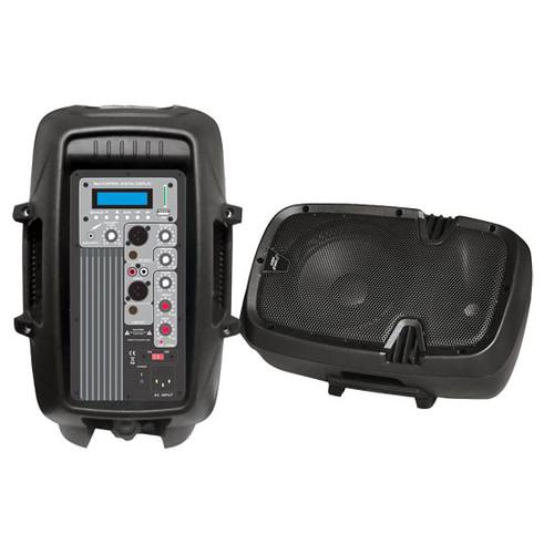 1 x  PPHP1 x 03MU 1 x 0'' 600Watt Powered Two-Way PA Speaker w/ MP3/USB SD Playback