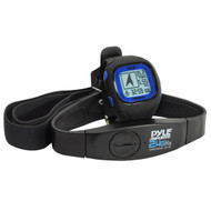 Pyle PSWGP405BL Blue GPS Heart Rate Watch Navigation Speed Distance Workout Memory