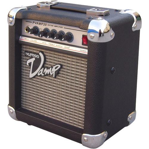 Pyle PVAMP20 20 Watt Vamp-Series Amplifier With 3-Band EQ