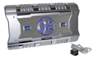 BrandX XFLSQ182X4 1204 Watt 4 Ch Amplifier +Digital Voltage/Amperage Display