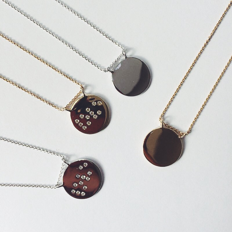 Claire Aristides Touch Necklaces