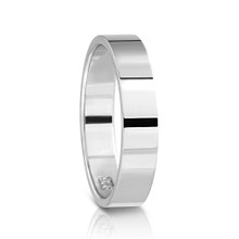 KAHLO X CLAIRE ARISTIDES PETITE Sterling Silver Ring 4MM WIDE