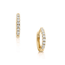 Lexi Petite Diamond Sleepers Yellow Gold