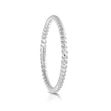 Entwine Ring in White Gold