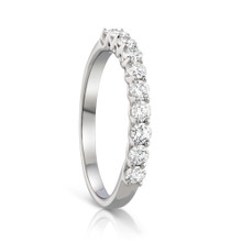 .62 Diamond Eternity Ring in White Gold