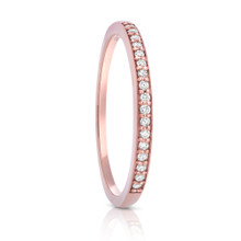 Aeon Diamond Rose Gold Ring