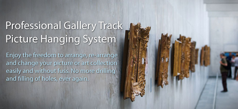 Gallery Track Picture Hanging System