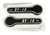 RV-10 Interior Door Handle Covers