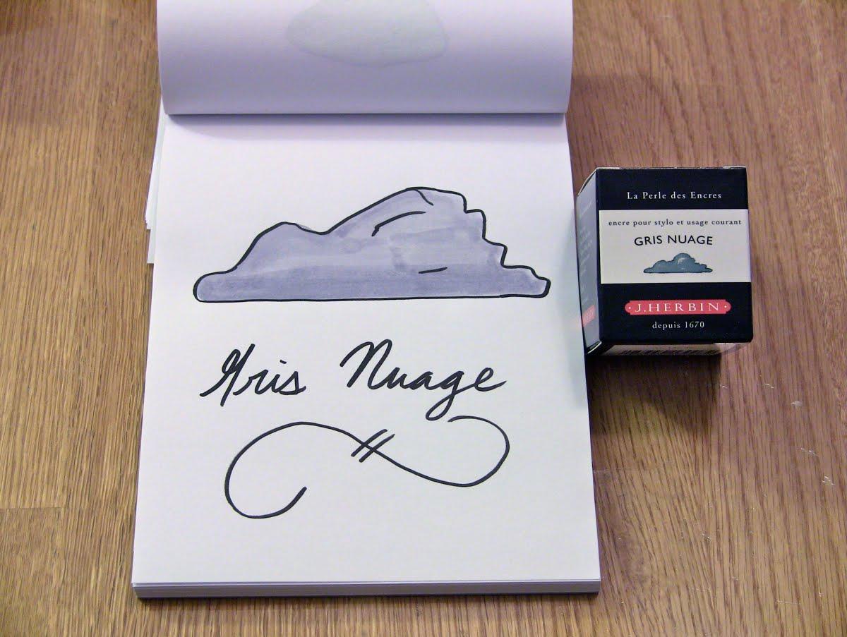 Mực J. Herbin - Màu mây xám (Gris nuage) -  08 - 30ml