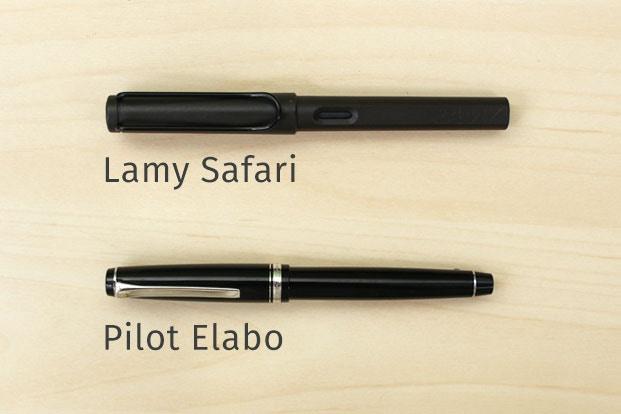 Bút máy phù hợp cho chữ viết châu Á và phương Tây