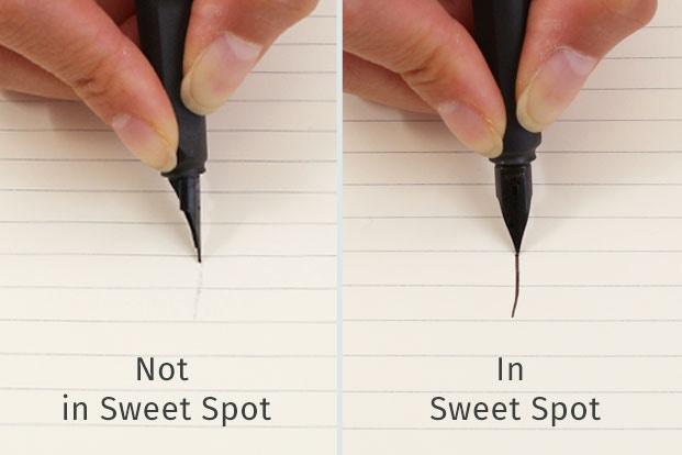 """Tìm điểm """"ngọt"""" của bút máy"""