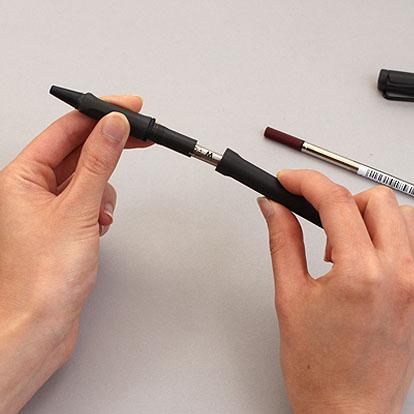 cách thay ngòi bút bị Lamy