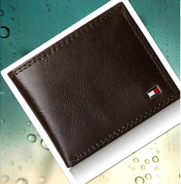 Ví nam Tommy Hilfiger Men's Leather Jerome Double Billfold Walllet