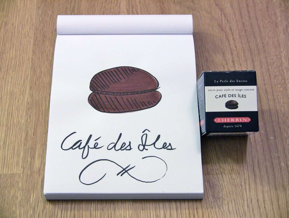 Mực J. Herbin - Màu nâu Cà phê (Café des Îles) -  46 - 30ml