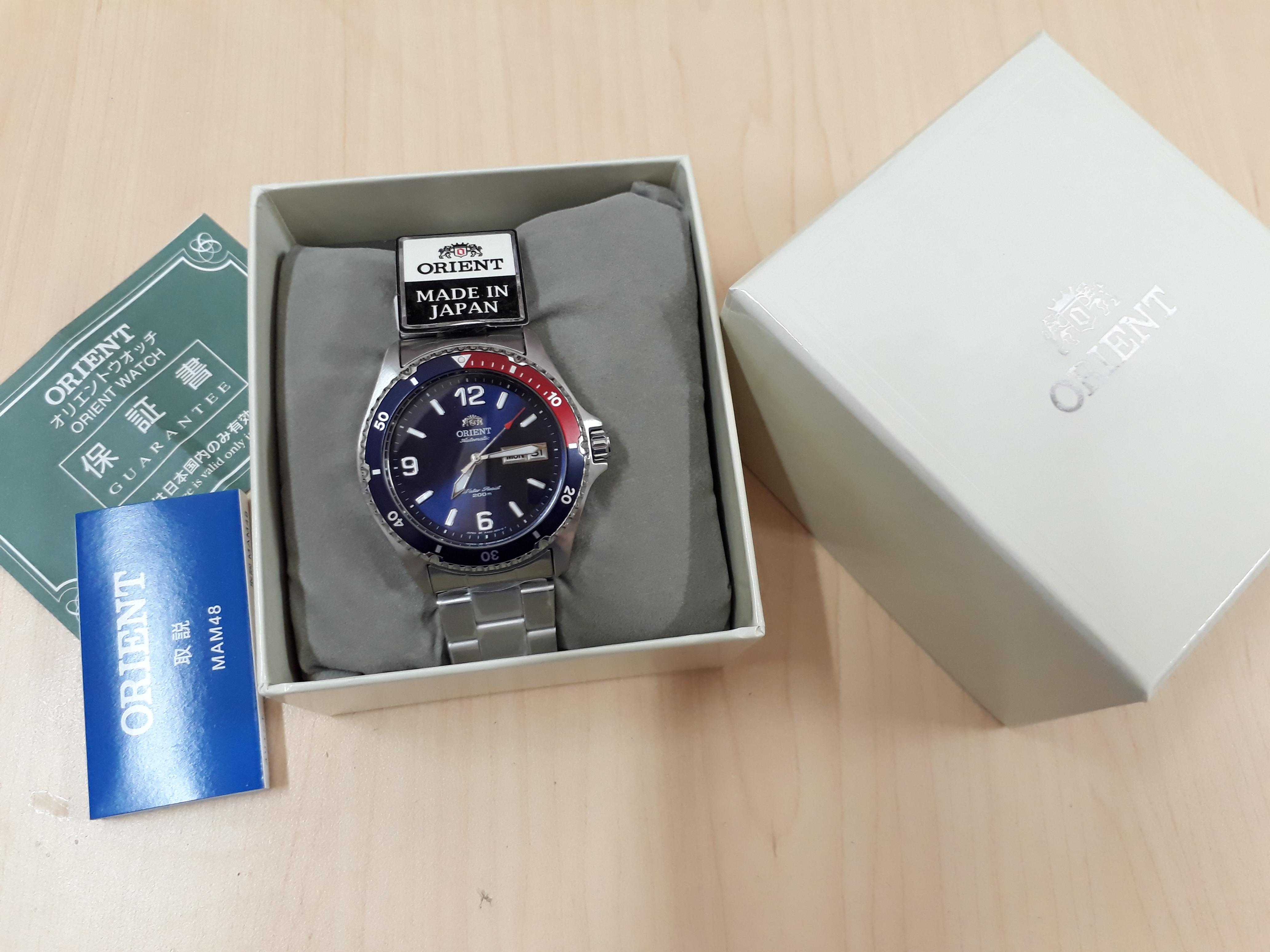 Đồng hồ Orient Pepsi Mako II SAA02009D3