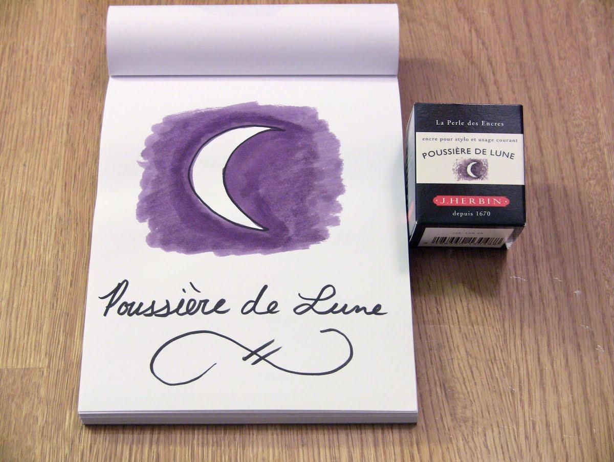 Mực J. Herbin - Màu tím đen (Poussière de Lune) -  48 - 30ml