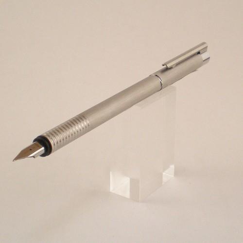 Bút máy Lamy Logo - Màu Brush (Thép xước)