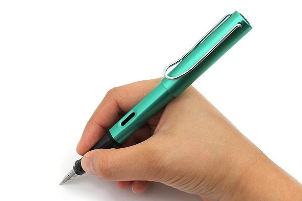 Bút Lamy Al-Star - Màu xanh ngọc (Bluegreen) - Ngòi F - L32