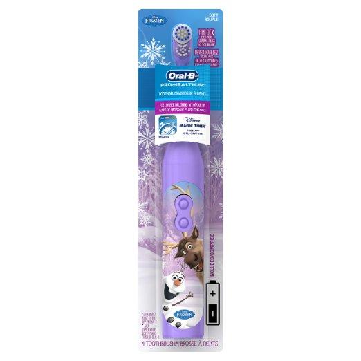 Bàn chải đánh răng pin trẻ em Oral-B Pro-Health Battery Toothbrush Frozen