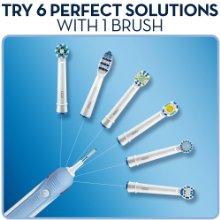 Bàn chải điện Oral B 600 dùng được với mọi đầu bàn chải Oral B