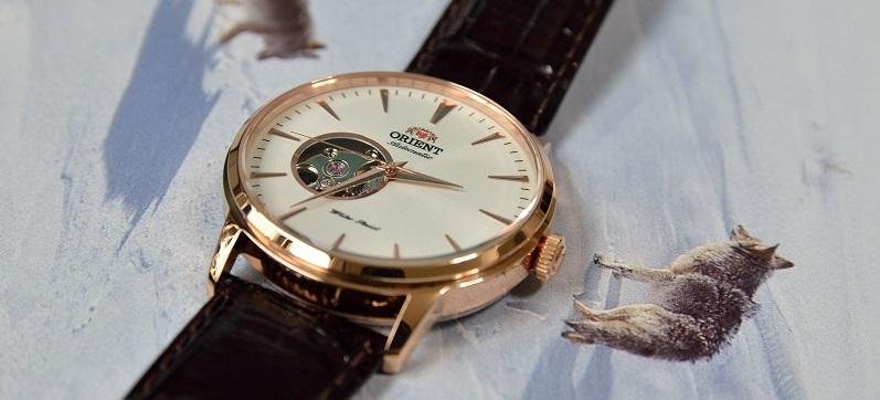 Đồng hồ Orient FDB08001W0 Esteem Open Heart Dial Watch trang nhã