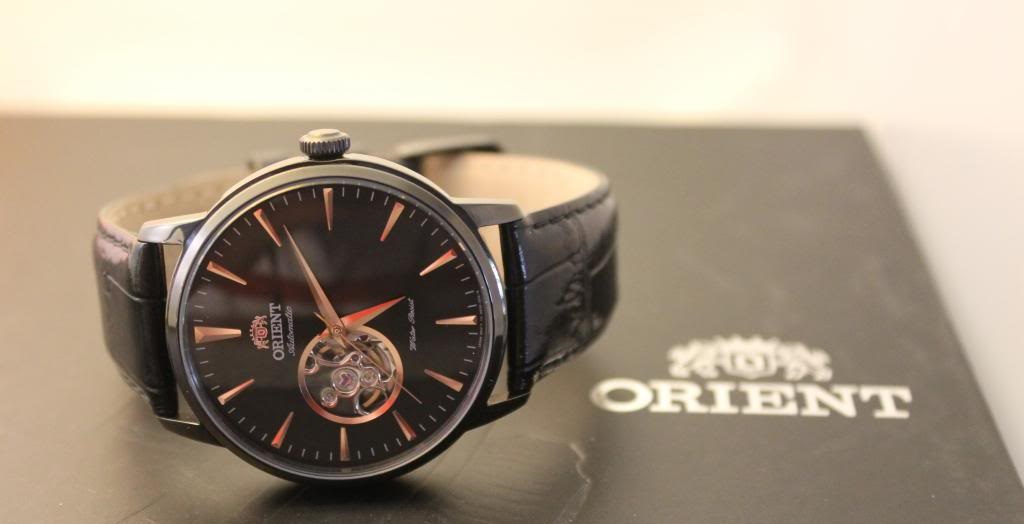 Đồng hồ Orient FDB08002B Esteem Open Heart Dial Watch