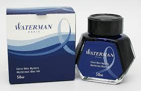 Mực Waterman - 50ml - Màu xanh đen - S0110790