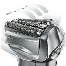 Hệ thống đầu cạo linh động của máy cạo râu Braun series 7