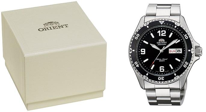Hộp đồng hồ Orient Black Mako II Saa02001b3