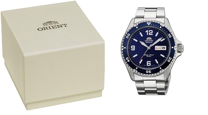 Hộp đồng hồ Orient Blue Mako 2