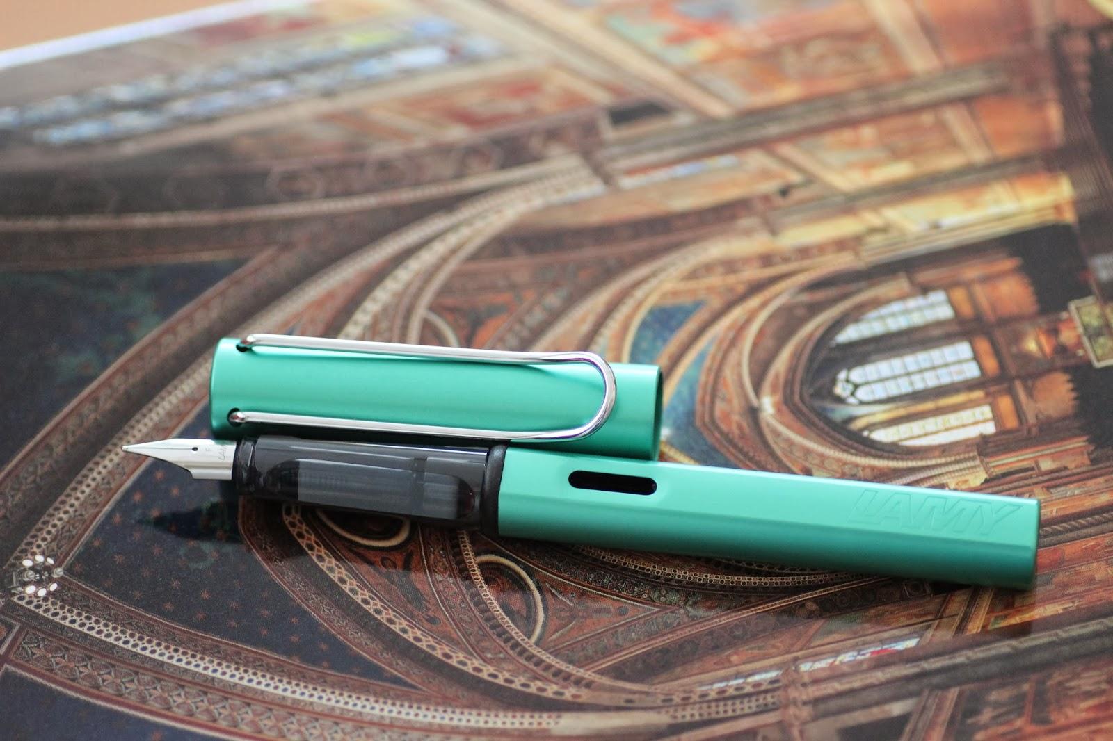 Bút Lamy Al-Star - Màu xanh ngọc - Ngòi F - L32