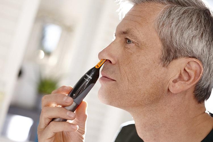 Máy tỉa lông mũi Philips NT3160/10 tiện dụng làm vệ sinh mũi