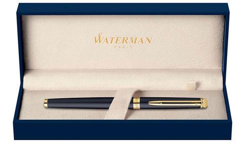 Hộp Waterman Hemisphere Gold Trim Fountain Pen Matte Black