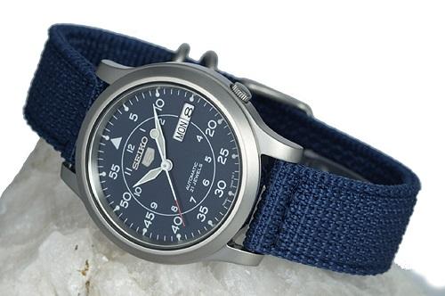 Đồng hồ Seiko SNK807 (SNK807K2) phong cách quân đội