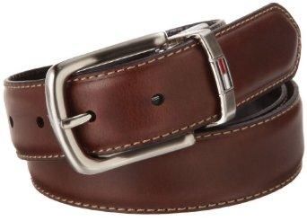 Thắt lưng Tommy Hilfiger Men Leather Reversible mặt màu nâu