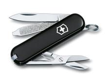 Dao đa năng Victorinox Classic đen - Chính hãng Thụy Sĩ