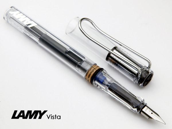 Bút máy Lamy Vista - Ngòi F - L12