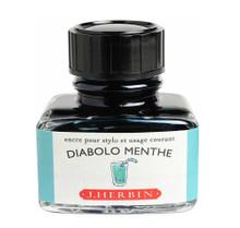 Mực J. Herbin - Màu xanh bạc (Diabolo Menthe) -  33 - 30ml