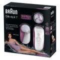 Máy nhổ lông kèm máy massage mặt và cơ thể Braun 7929