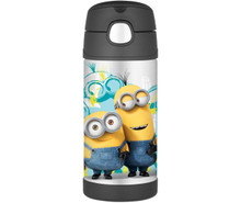 Bình giữ nhiệt cho bé Thermos Funtainer 12 Ounce Bottle, Minions - 350ml