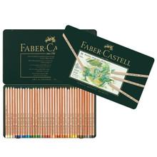 Bộ bút chì màu Faber Castell 112136 - Colour pencil Pitt Pastel tin of 36 - 36 màu - Hộp thiếc