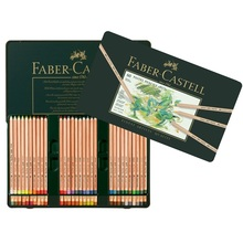 Bộ bút chì màu Faber Castell 112160 - Color pencil Pitt Pastel tin of 60 - 60 màu - Hộp thiếc