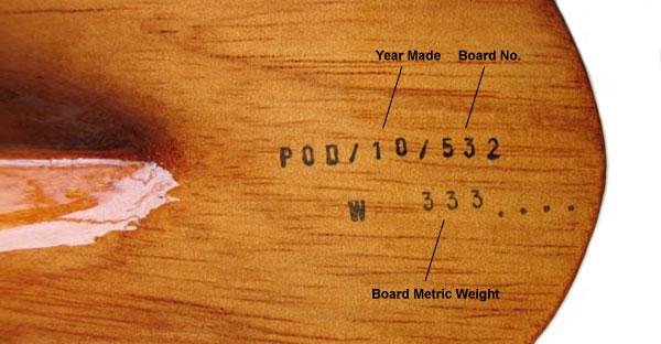 POD Bodysurfing Handboards Details