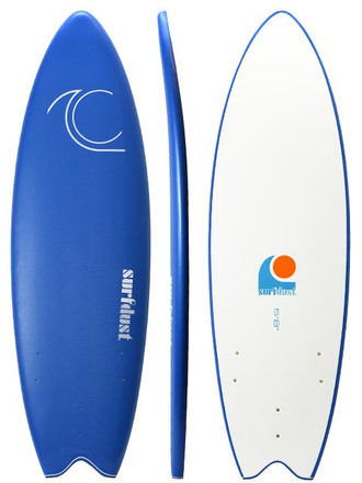 SURFDUST - Primo Soft Surfboard 5.8ft Fish
