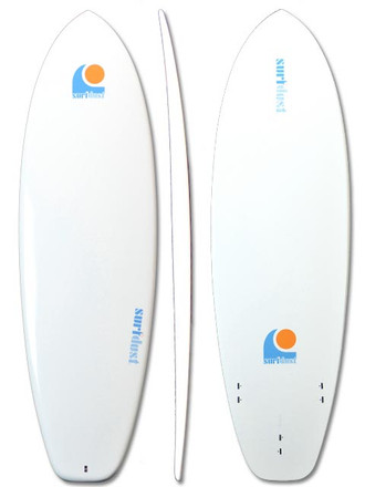 SURFDUST - 6ft Mini-Mal Surfboard