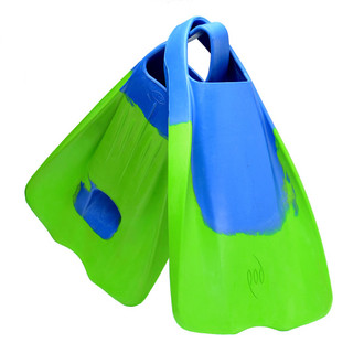 POD Swim Fins - PF1's Limited Edition Blue/Lime