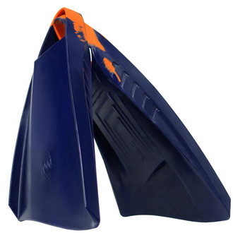 POD Swim Fins PF3 Evolution Limited Colour Edition Navy/Orange