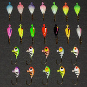 Neon Crappie Kit - 24pcs. (SAVE $4.76 WHEN YOU BUY THE KIT)