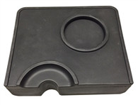 Corner Tamping Mat with Portafilter Holder by LF Italy